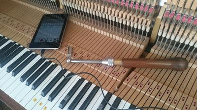 ピアノ調律の準備