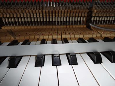 鍵盤並びを水平にする